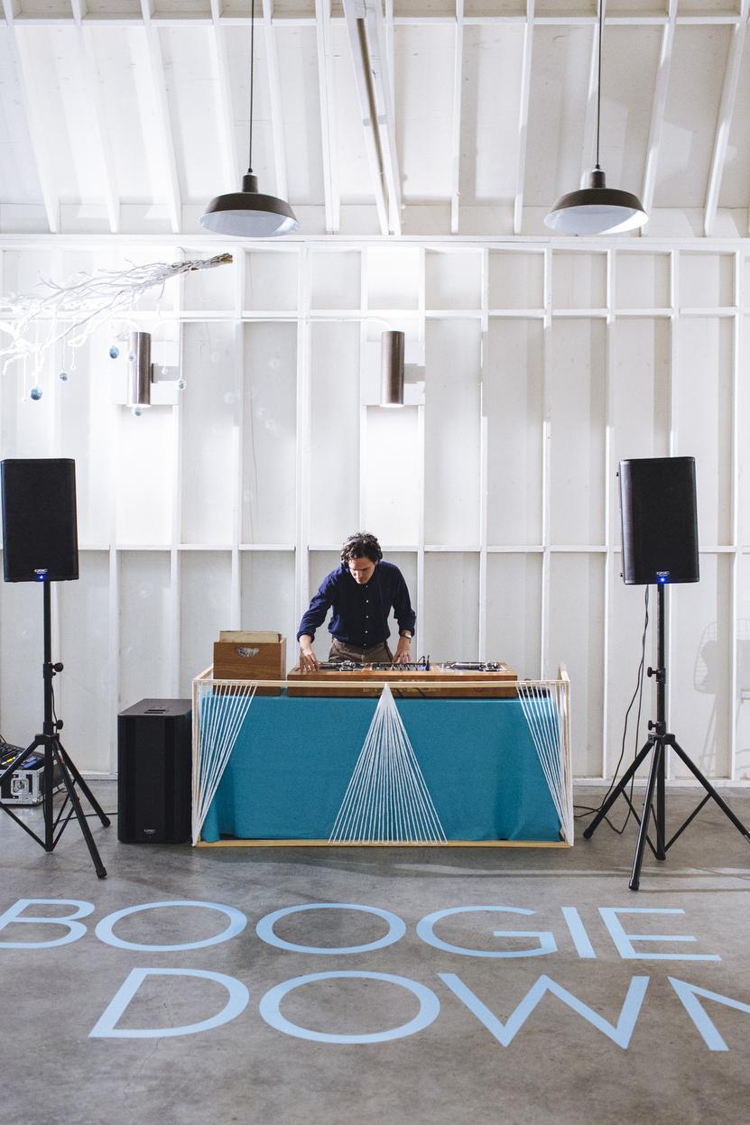 Dart DJ Holiday Party Down 2014