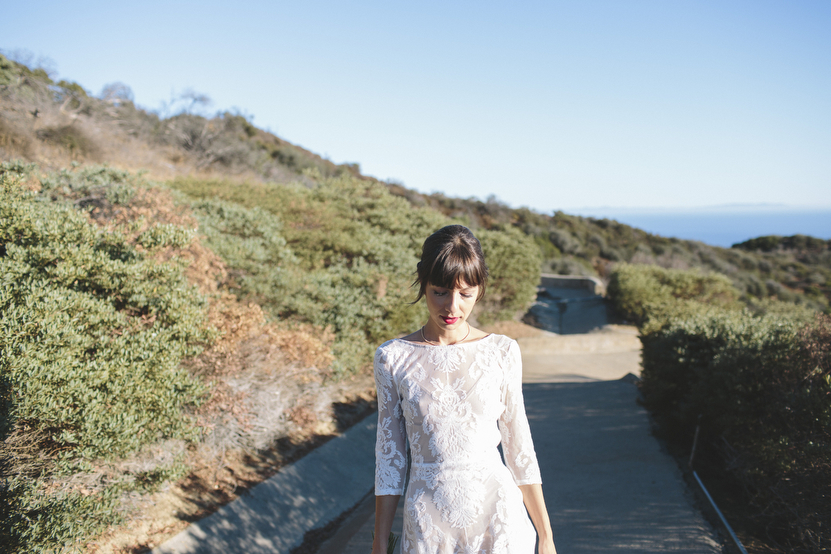 Rad + In Love Topanga Canyon Wedding